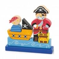 Puzzle Cuburi Magnetice, Pirat