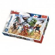 Puzzle Trefl, Pregatiti Pentru Salvarea Lumii, Marvel Avengers, 160 piese