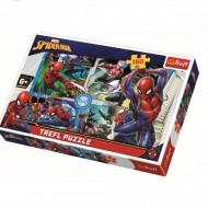 Puzzle Trefl, Salvatorul, Spiderman, 160 piese