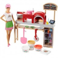 Set de joaca Barbie, You Can Be Anything, Pizzerie