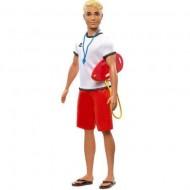 Set Papusa Baiat Ken Salvamar, Barbie You Cand Be Anything