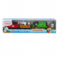THOMAS LOCOMOTIVA MOTORIZATA SAFARI PANDA PERCY
