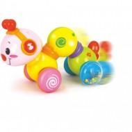 Viermisorul Plimbaret Cu Sunete Si Lumini, 2 In 1, Hola Toys