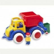 Camion Gunoi cu 2 figurine Jumbo
