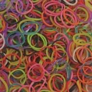 Elastice standad mix, Rainbow Loom, 600 buc