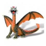 Figurina dragon portocaliu