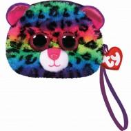 Gentuta De Mana Din Plus TY Leopardul Dotty, 10 cm