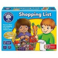 Joc educativ in limba engleza Lista de cumparaturi alimente