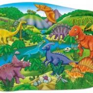 Puzzle de podea Dinozauri, 50 piese