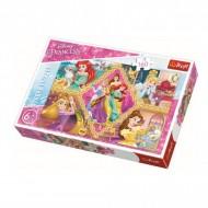 Puzzle Trefl, Aventura Printeselor, Disney Princess, 160 piese