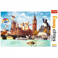 Puzzle Trefl Catelusi La Londra,1000 Piese