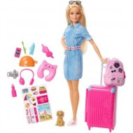 Set Calatorie Papusa Barbie