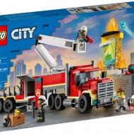 LEGO CITY UNITATEA DE COMANDA A POMPIERILOR 60282