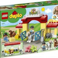 LEGO DUPLO GRAJD PENTRU CAI SI INGRIJIREA PONEILOR 10951