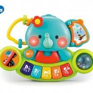 Pianina Muzicala Elefant, Hola Toys