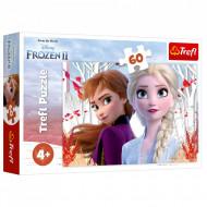 Puzzle Frozen II Anna si Elsa, 60 Piese