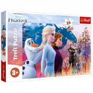 Puzzle Maxi Frozen II Calatoria Magica, 24 Piese
