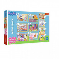 Puzzle Trefl 10 in 1, Peppa Pig