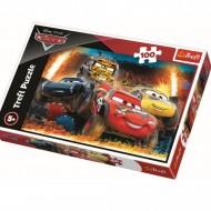 Puzzle Trefl, Cursa La Limita, Disney Cars, 100 piese