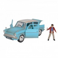 Set 1959 Ford Scara 1:24 Cu Figurina Metalica Harry Potter