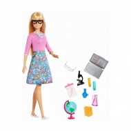 Set Papusa Barbie Profesoara