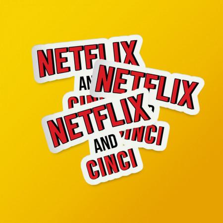 "Pack stickere ""Netflix and 5"""