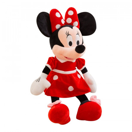 Mascota Toys Rosu 50 cm Minnie Mouse din plus