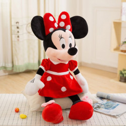 Mascota Toys Rosu 60 cm Minnie Mouse din plus