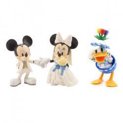 Set 3 figurine Mickey&Friends, Wedding Day, 12 cm