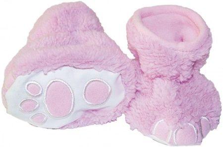 Botosei roz deschis pentru bebelusi - Picioruse (Marime Disponibila: 0-6 luni)