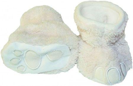 Botosei pentru bebelusi - Picioruse (Marime Disponibila: 0-6 luni, Culoare: Ivoire)