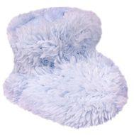 Botosei bleu pentru bebelusi din blanita Ciufulici (Marime Disponibila: 0-6 luni)
