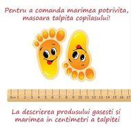 Mocasini pentru copii cu talpa antiderapanta - Happy Lion (Marime Disponibila: Marimea 20)