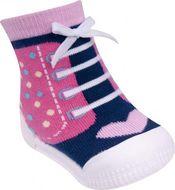 Mocasini pentru fetite cu talpa antiderapanta - Happy Shoes (Marime Disponibila: Marimea 20)