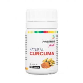 Poze Natural Curcuma 60 cps (articulatii menopauza reumatice)