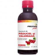 Tinctură Păducel și Valeriană 200 ml (hipertensiune, colesterol, relaxare)