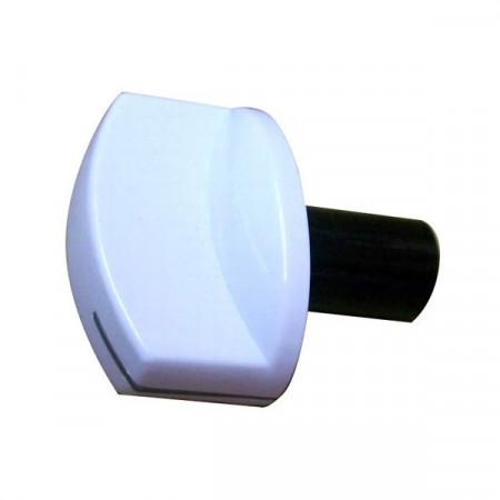 Buton aragaz Beko, include buton, arc si decor alb