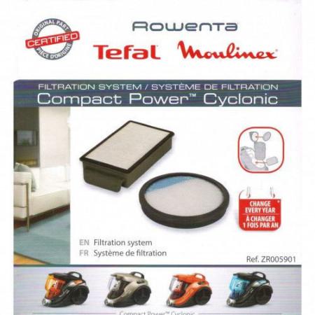Filtru aspirator Rowenta produs Original ZR005901 set