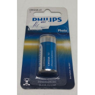 CR123A BATERIE FOTO 3V LITIU 1-BLISTER PHILIPS