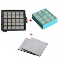 Kit filtre aspirator Philips compatibile pentru FC8146 FC8148 FC8140 FC8144 FC8142 FC8147