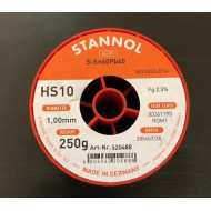 FLUDOR 1,0MM 250G STANNOL - NO CLEAN KRYSTALL 505
