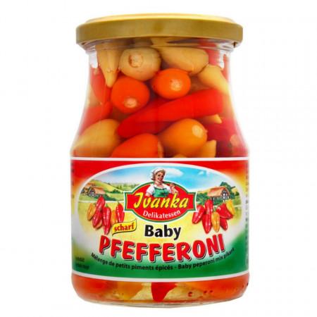 Ardei baby Pefferoni in otet Ivanka