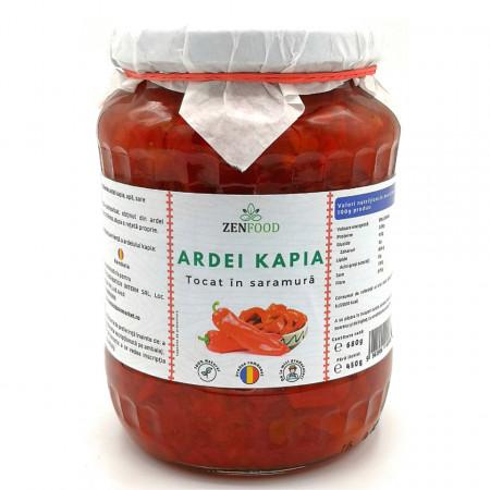 Ardei Kapia tocat in Saramura ZenFood