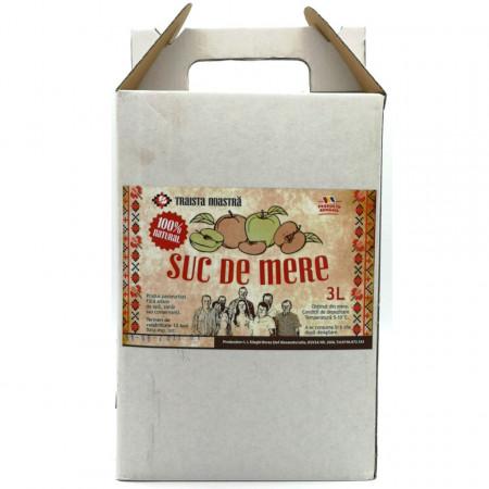 Suc Natural de Mere Traista Noastra 3L Bag in Box