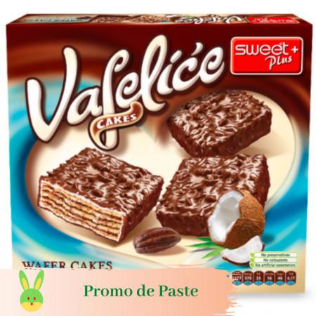Napolitane cu Ciocolata si Cocos 200g Sweet Plus