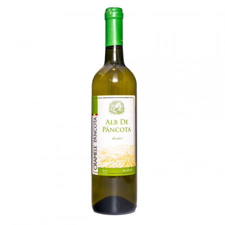 Vin Alb de Pancota demisec 0,75L