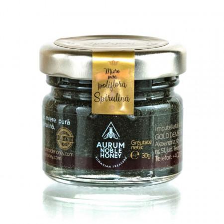 Miere Pura cu Spirulina Aurum Honey 30g