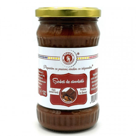 Serbet de Ciocolata Biodac 430g
