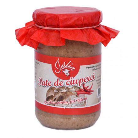 Pate Vegetal de Ciuperci cu Ardei Iute Julia 314ml