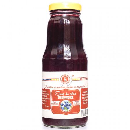 Sirop de Afine Biodac 0,33ml FARA ZAHAR